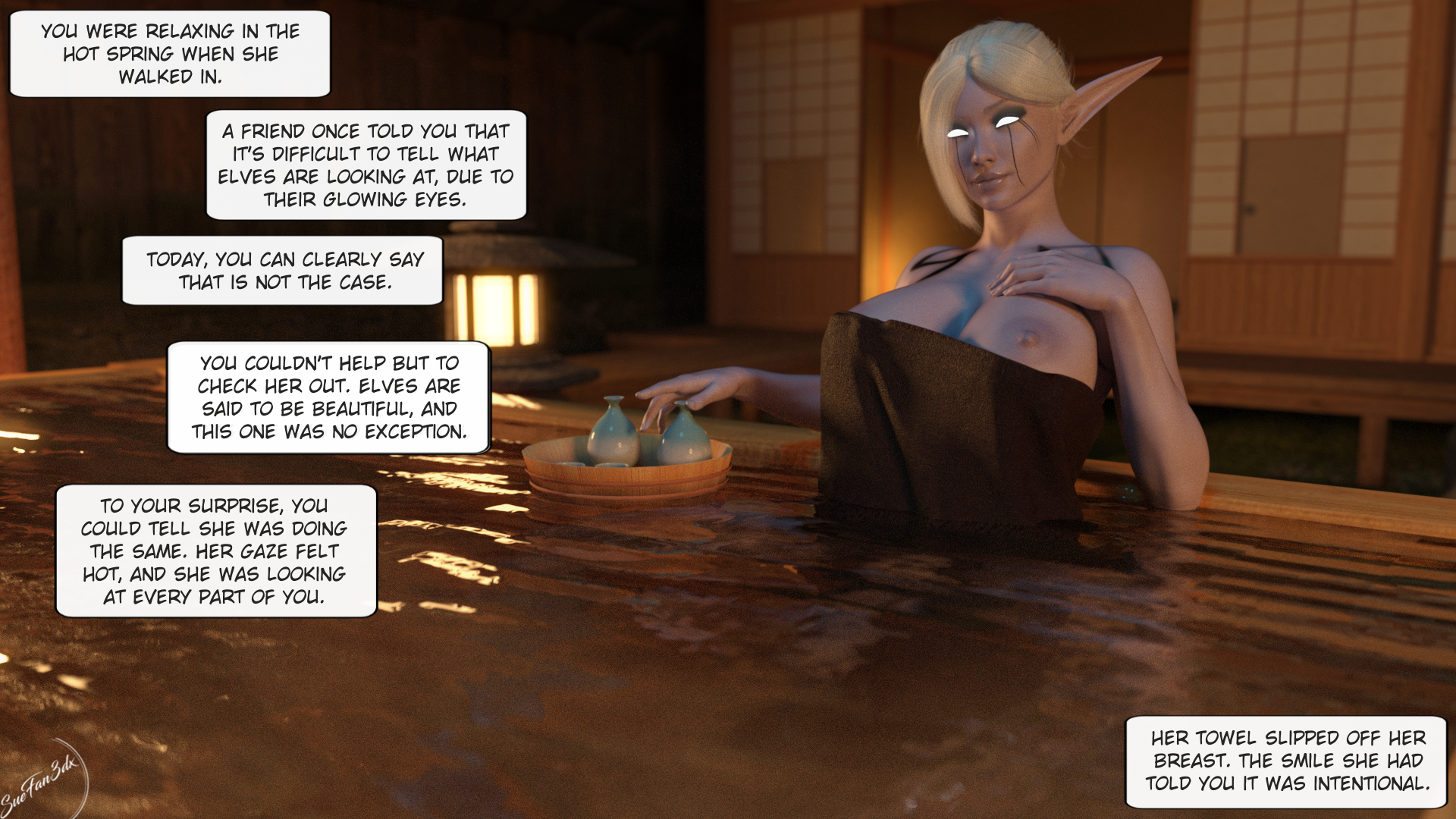 Hot spring encounter