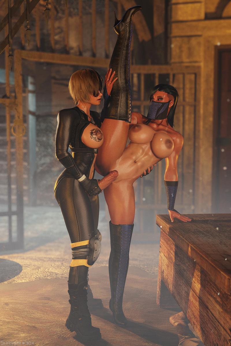 Mortal Kombat Cosplay - Cassie vs. Kitana