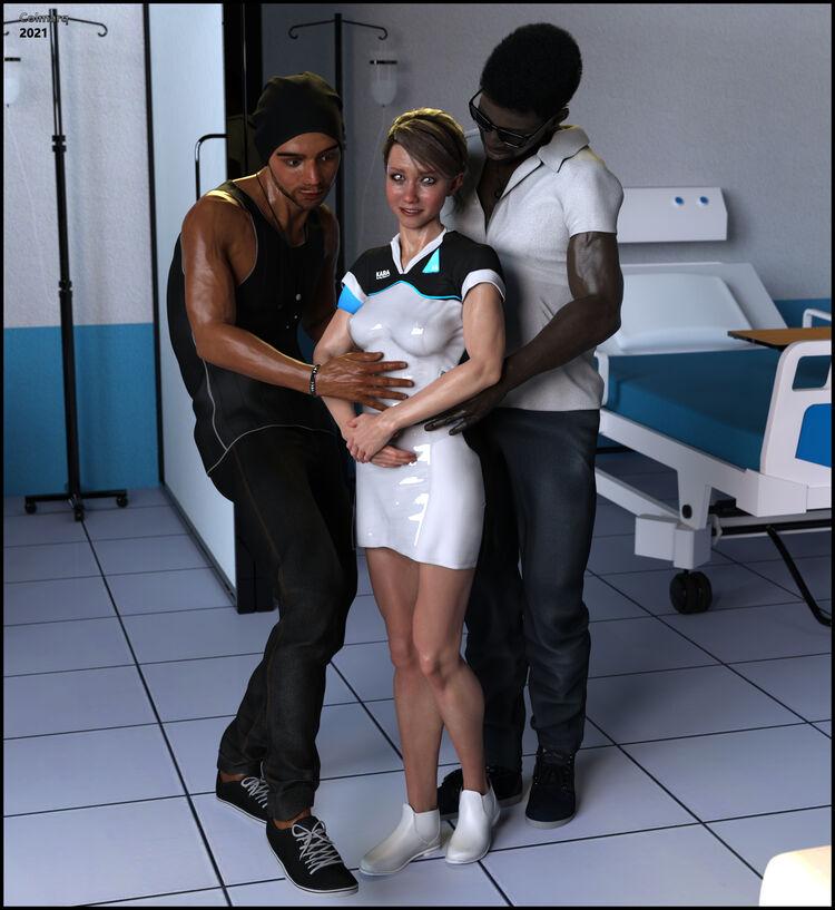 Valorie C as Kara...Hospital HC 02