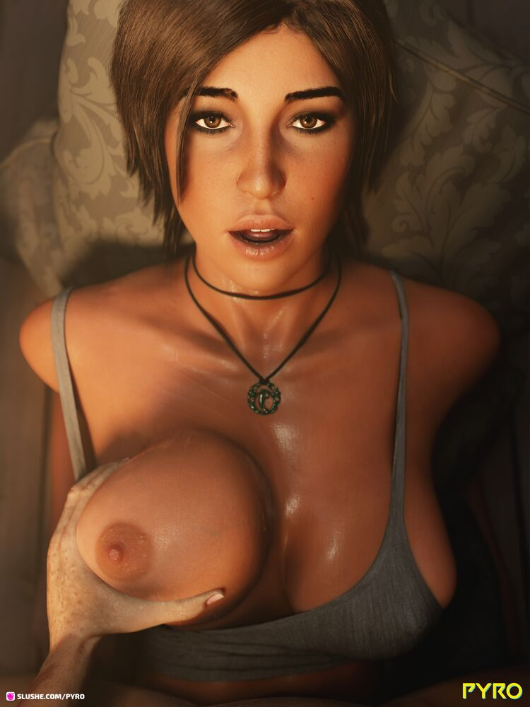 Mhm...Lara...your boobs have grown quite a bit.