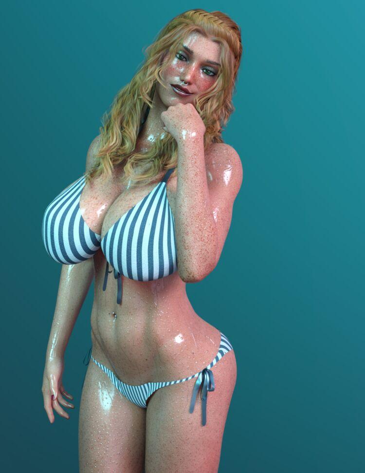 Wet Valeria
