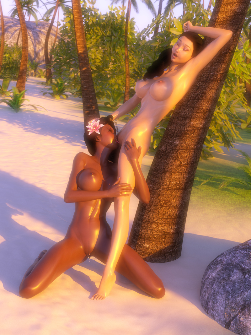 Mika and Shayna - A Taste of the Tropics