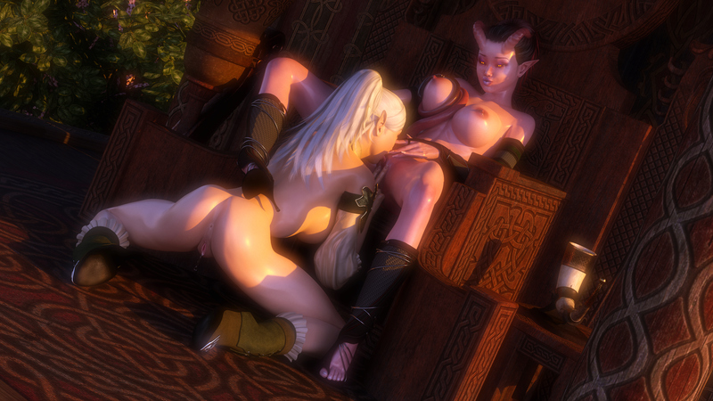 Illiyana and Shara - Succumbing to Lust