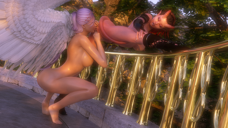 Seraphina and Shara - Divinely Sinful