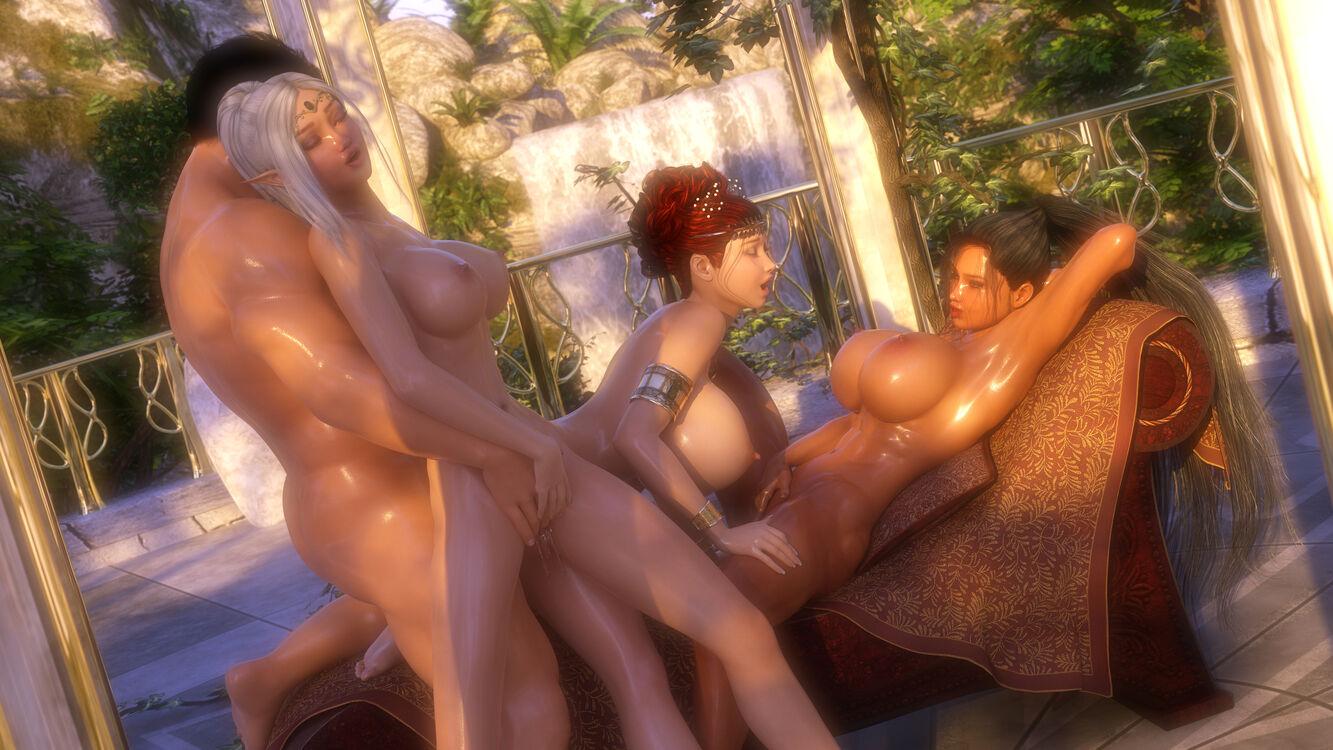 Helena, Illiyana, and Vella - Between Adventures
