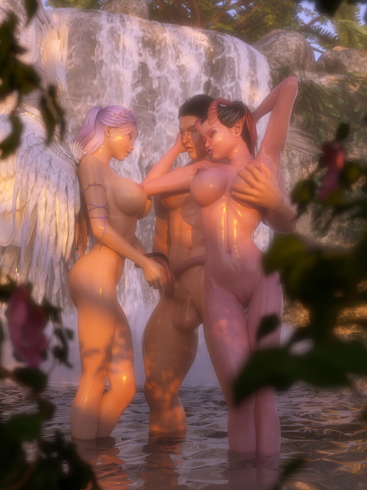 """Seraphina and Shara - The Battle for His...  """"Soul"""""""