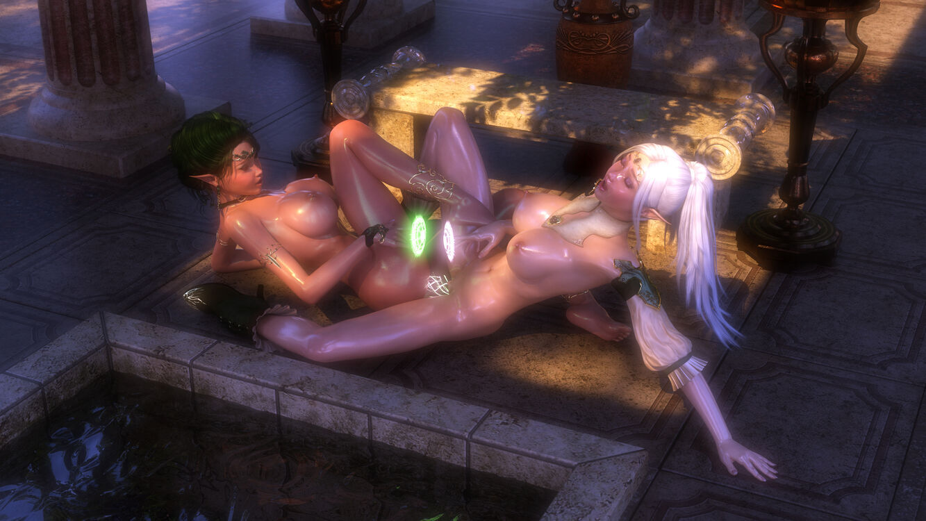 Emeralia and Illiyana - Wizard's Duel