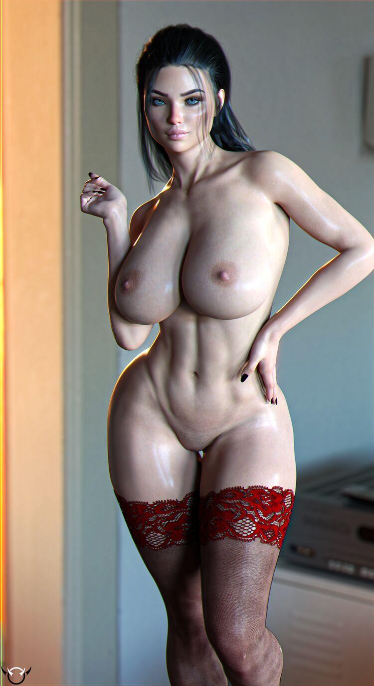 Jill Red Lingerie Suit
