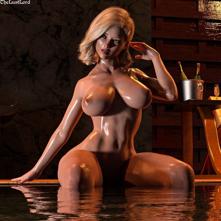 Rachel Bathing