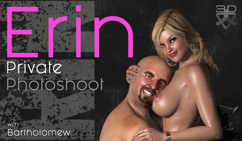 Erin in Private Photoshoot with Barth (PART 1)