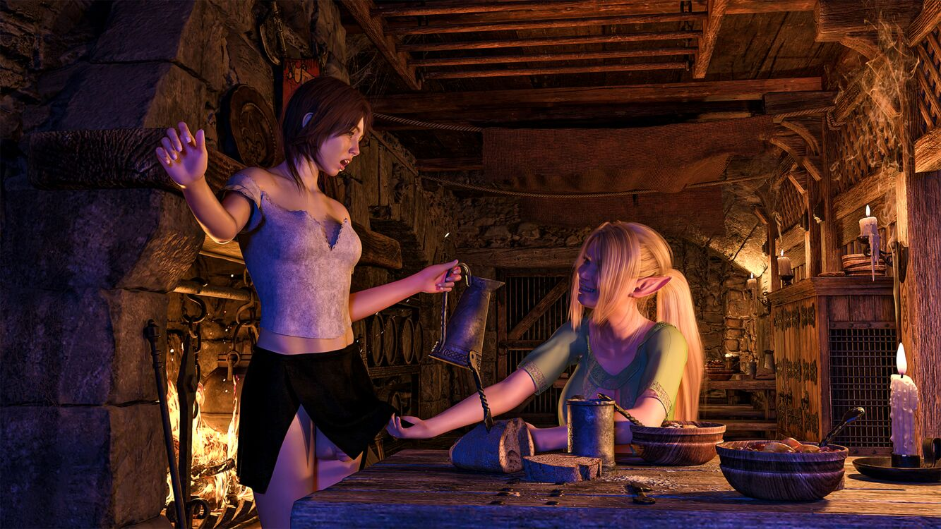 Fantasy setting - I love elves -