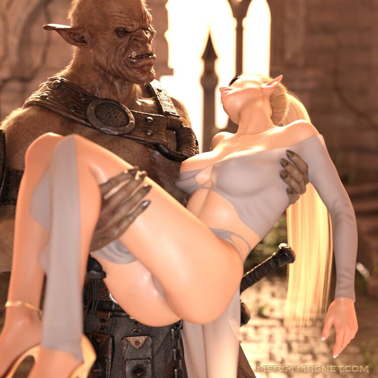 Beauty and the Beast - Captured high elf princess