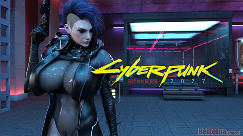 【New Words】Cyberpunk 2077 GAME FAN ART wallpaper