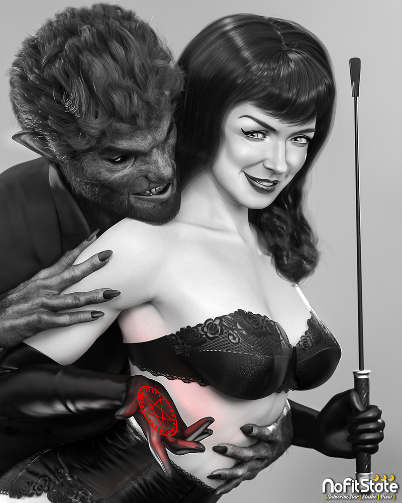 Bettie Page Meets the Wolfman 3