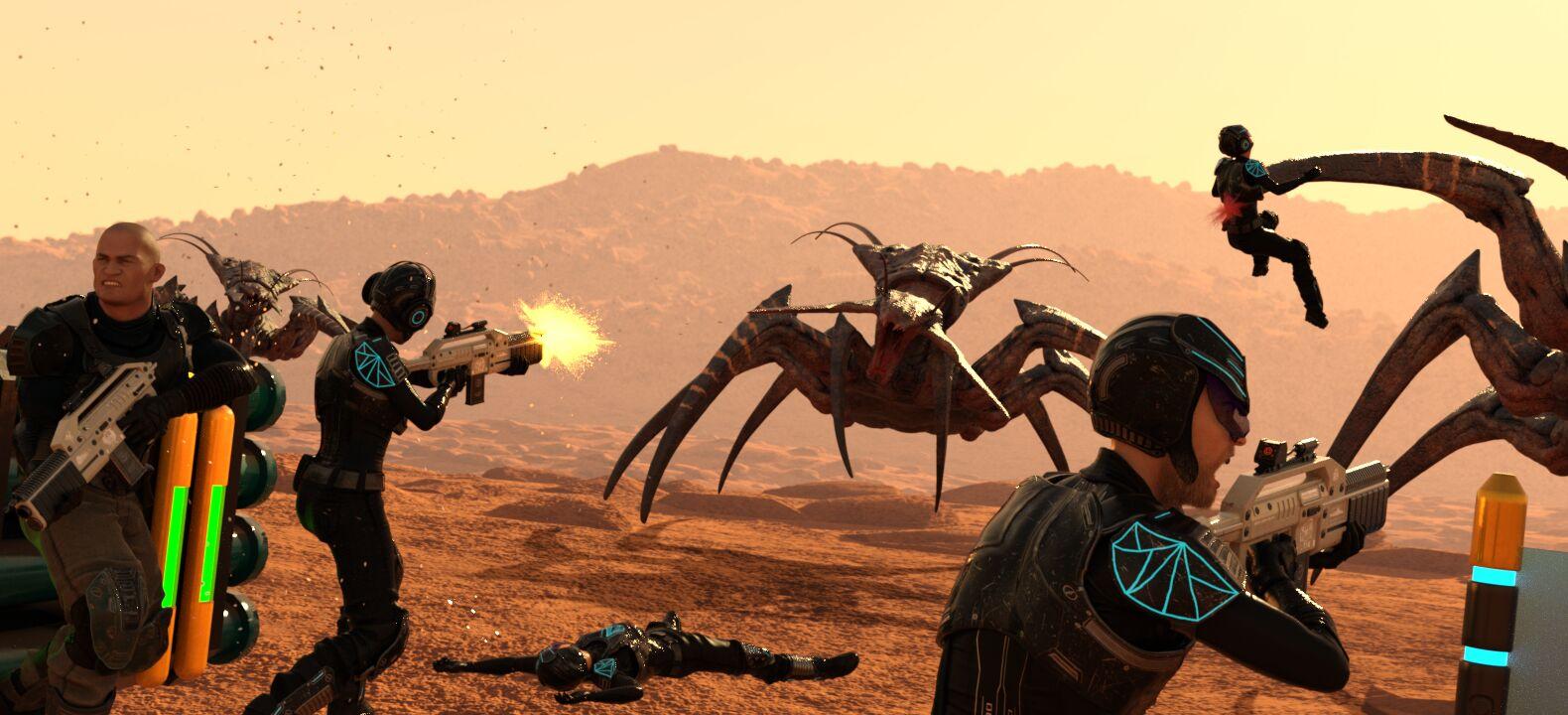 Planet Axum assault - pt. 1