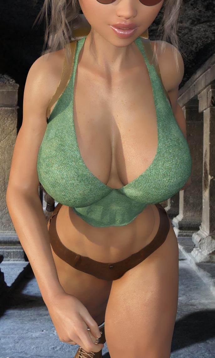 Lara Croft Stroll