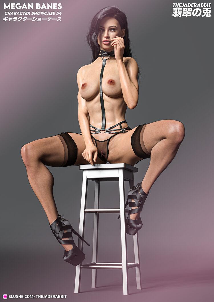 054 Megan Banes - Lingerie Showcase