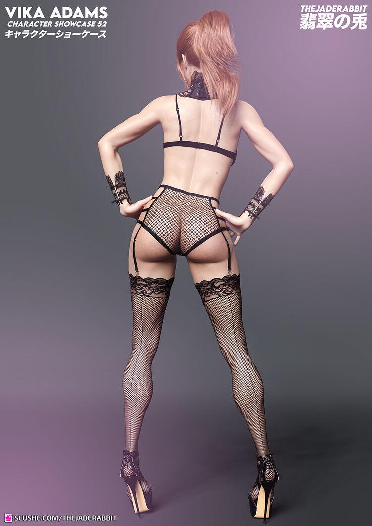052 - Vika Adams - Lingerie Showcase