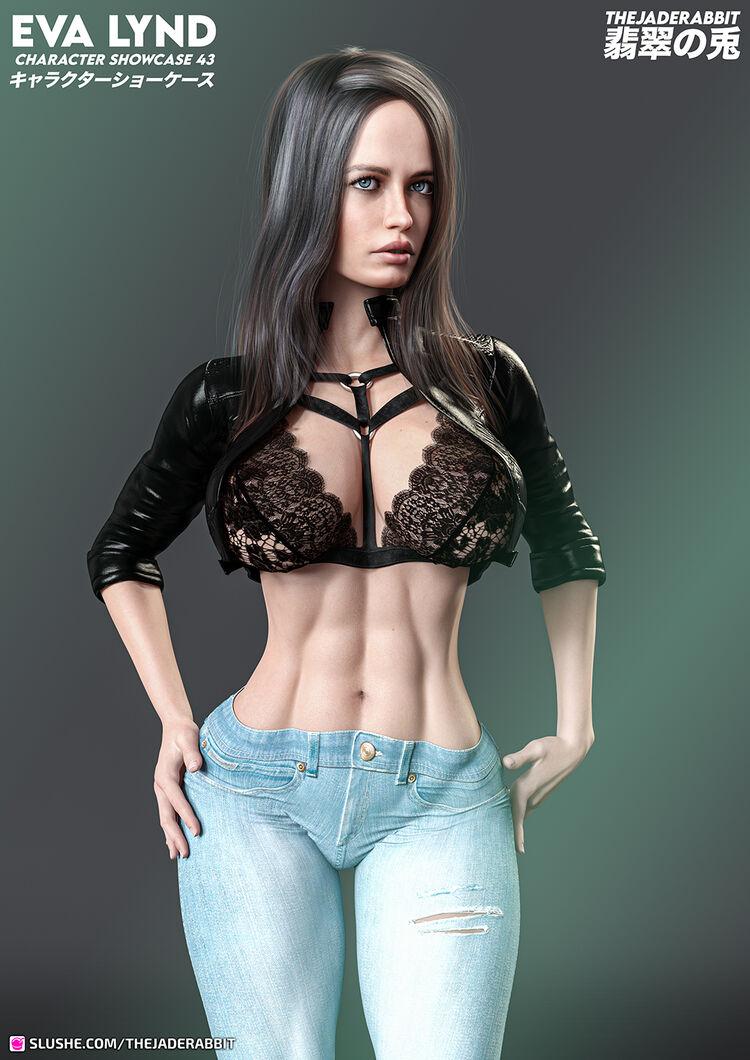 043 Eva Lynd - Clothed Showcase