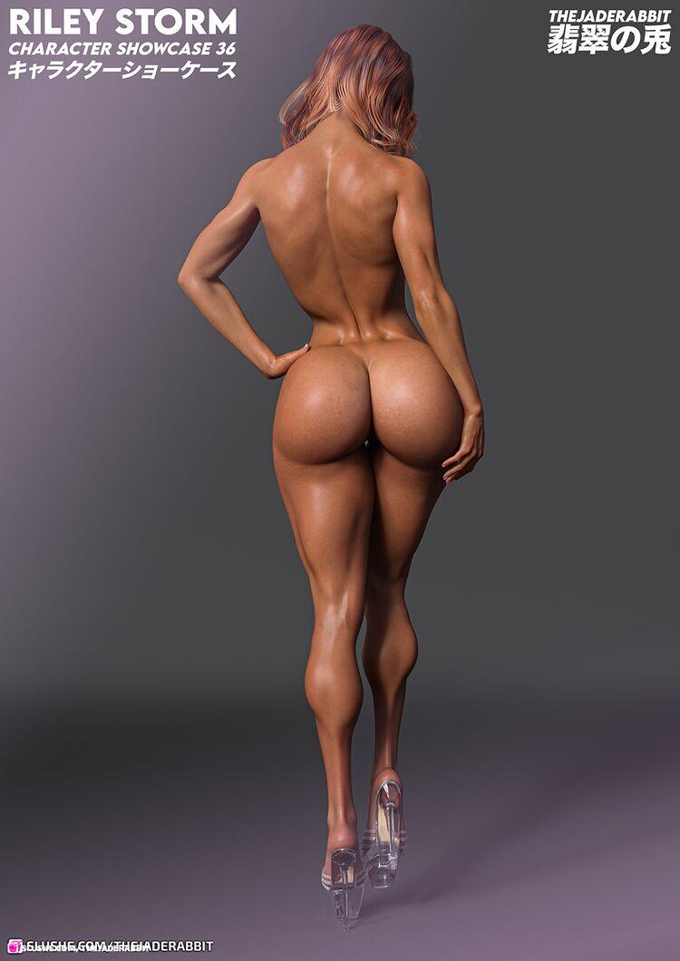 036 Riley Storm - Nude Showcase
