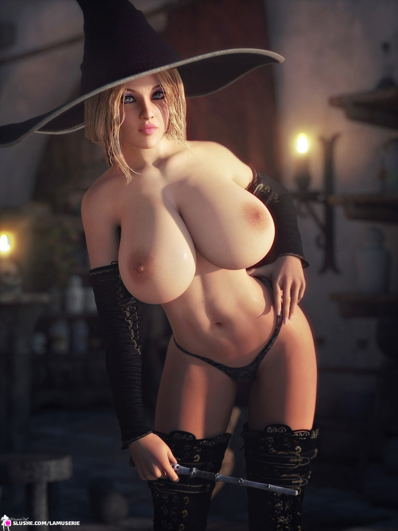 Topless Hot Witch 3