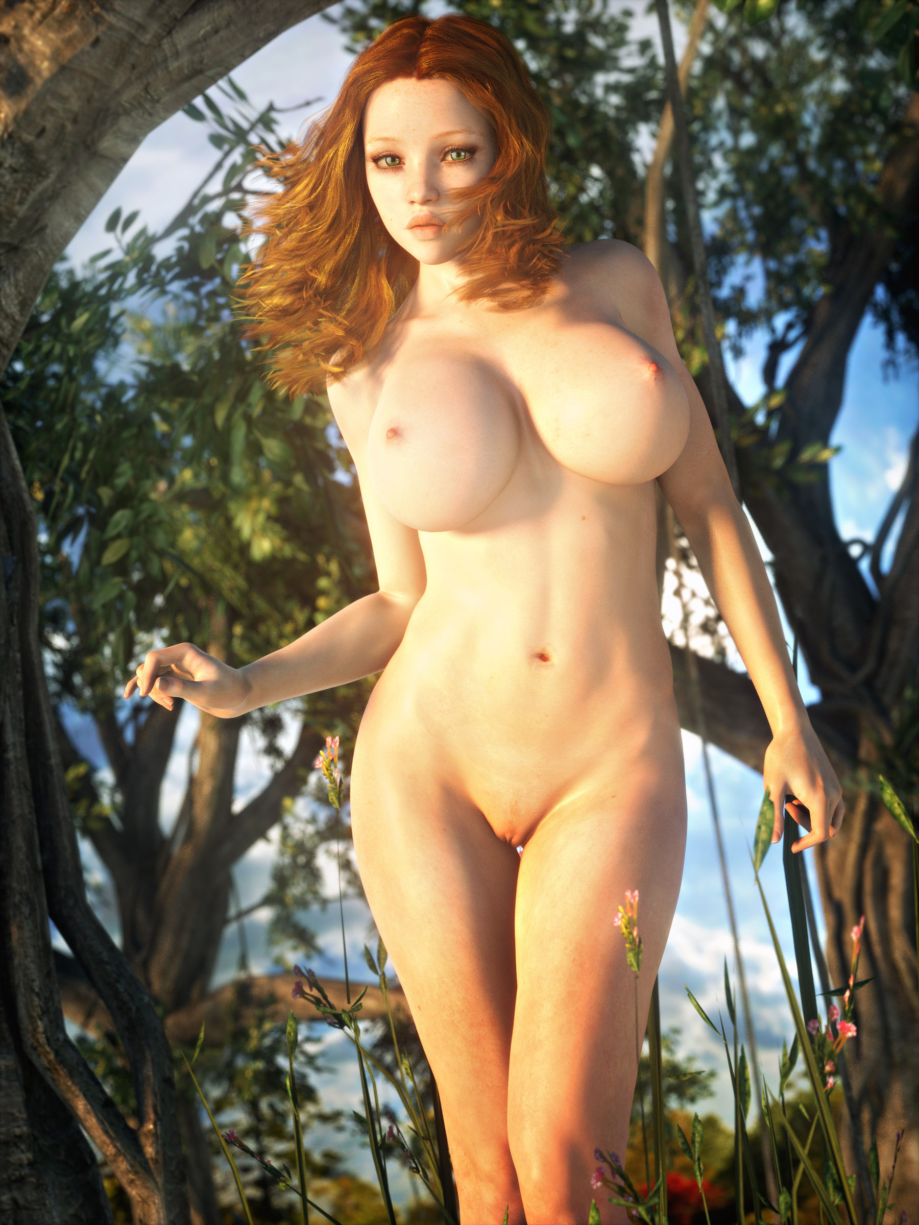 Nude Redhead Passion 1