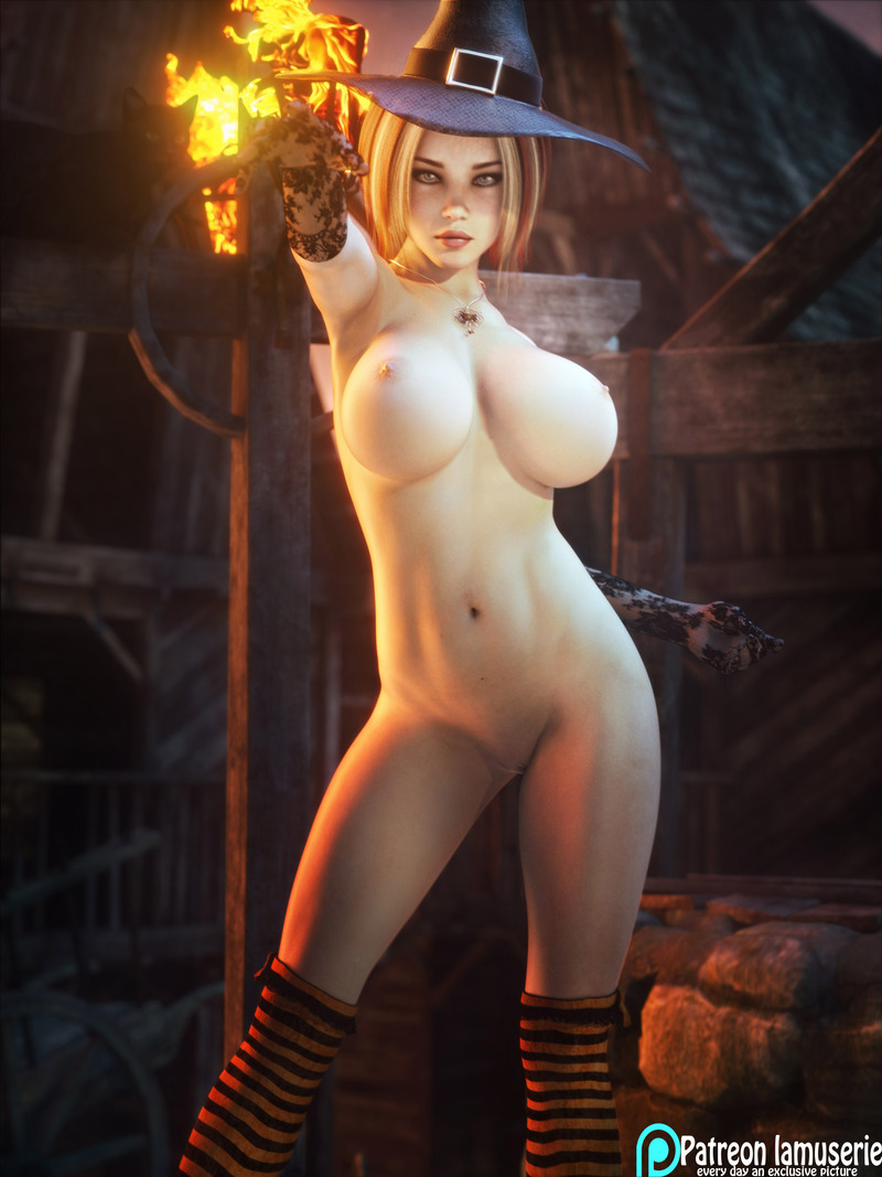 Nude Hot Witch 29