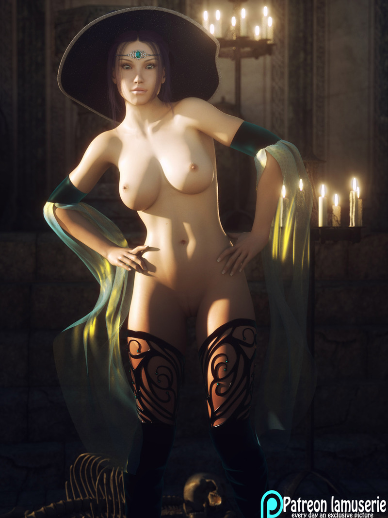 Nude Hot Witch 30