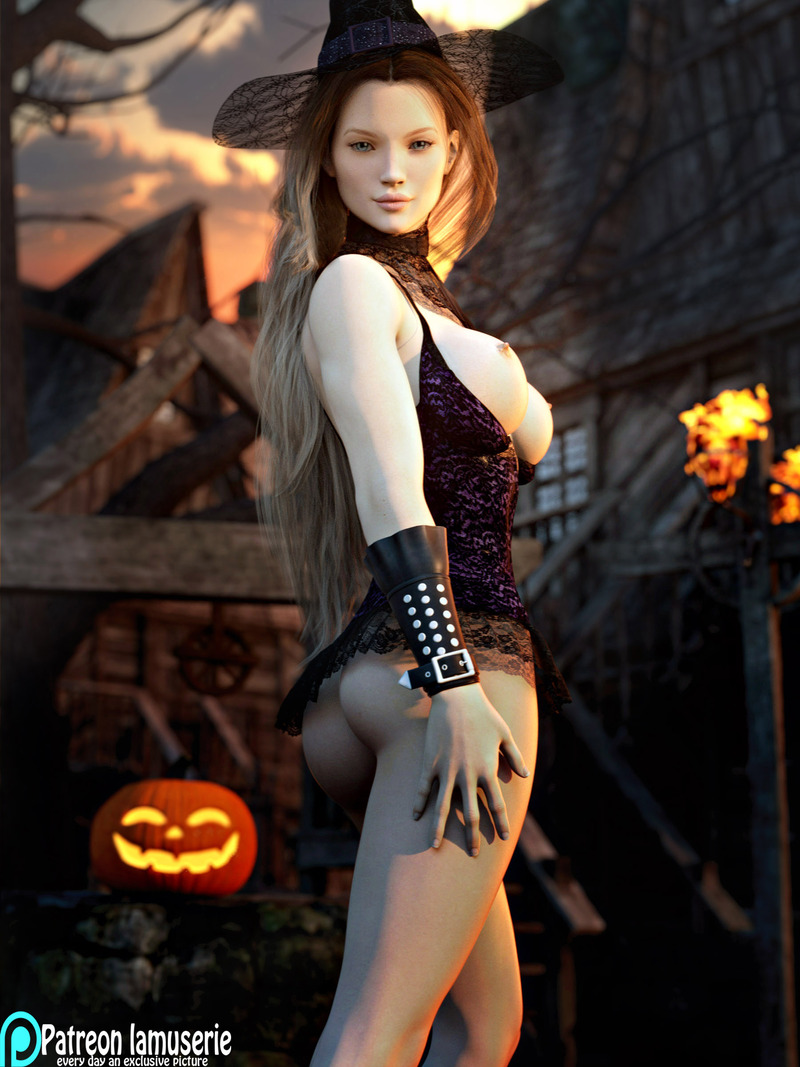 Nude Hot Witch 31