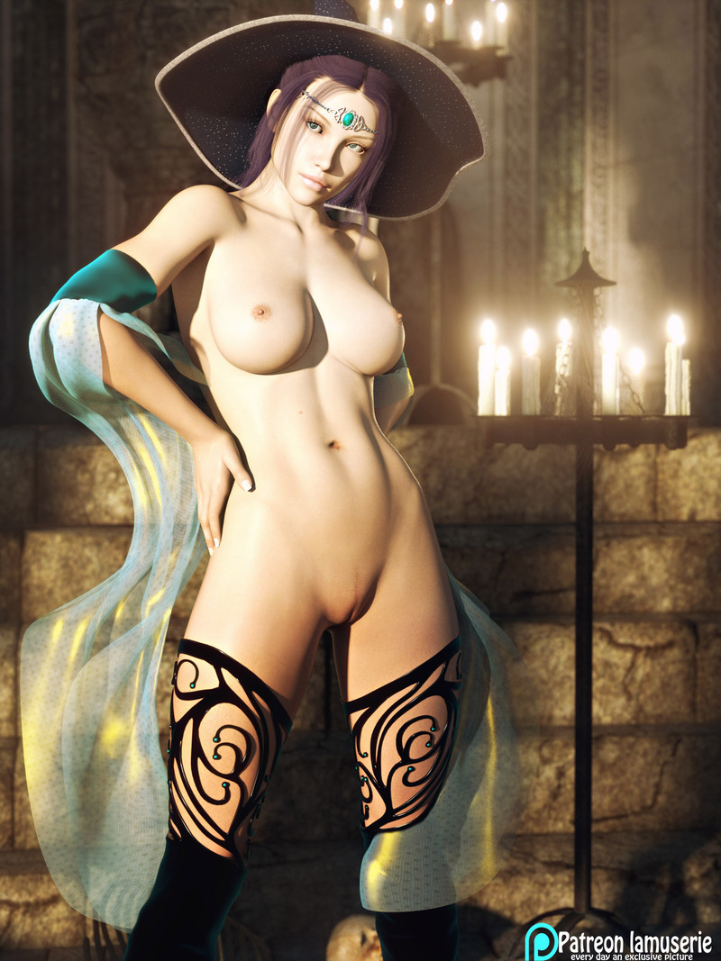 Nude Hot Witch 35