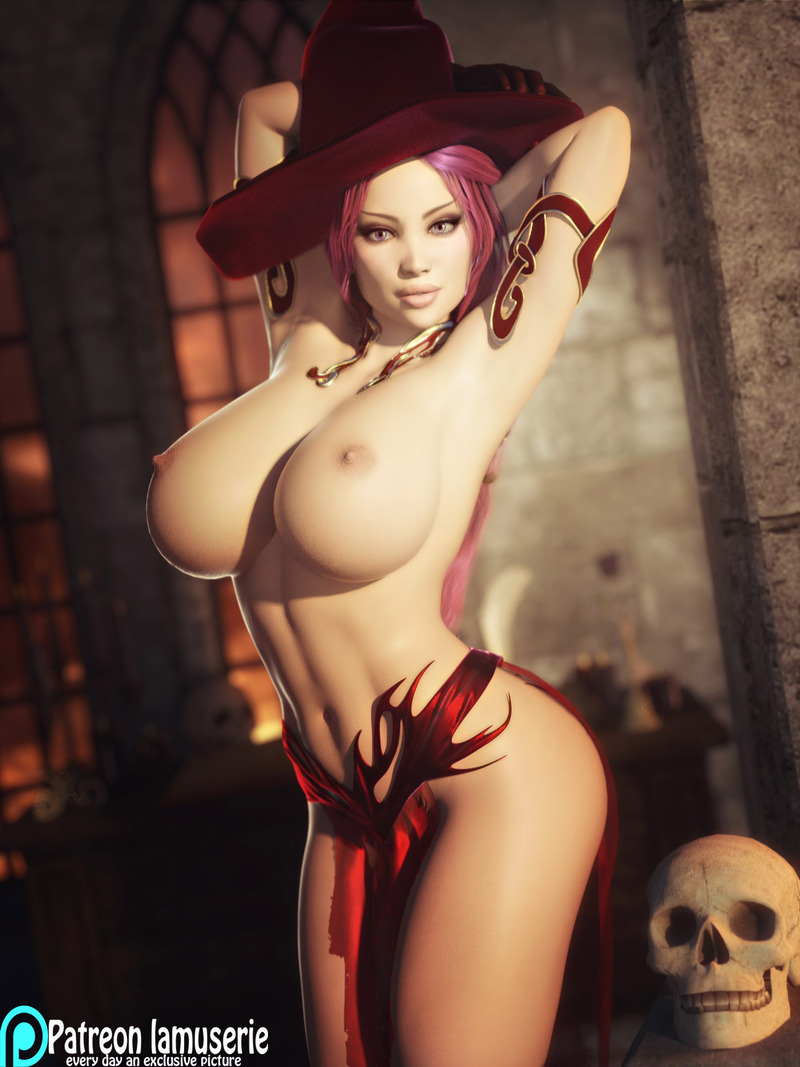 Topless Hot Witch 35