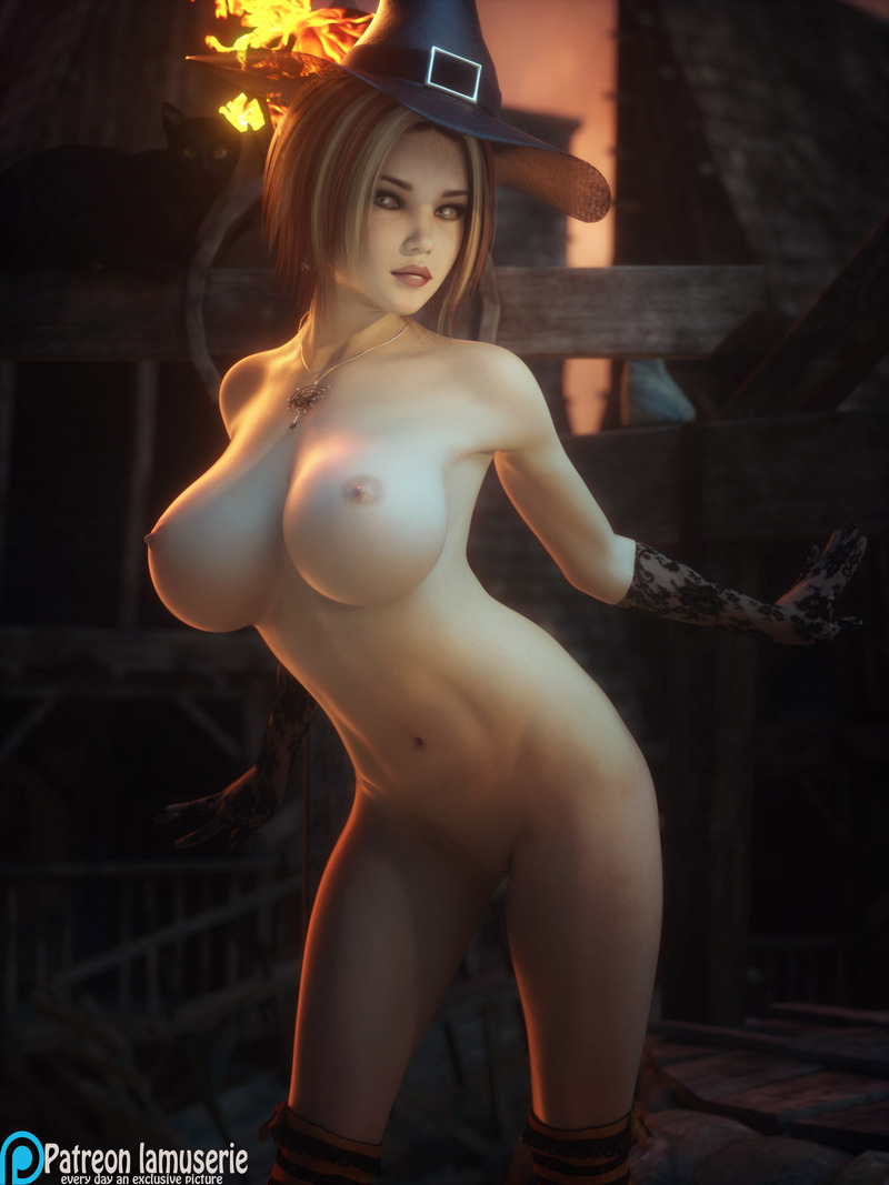 Nude Hot Witch 37