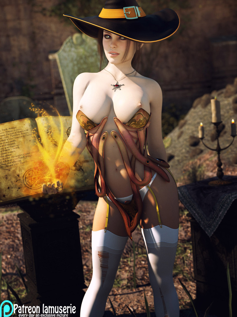 Topless Hot Witch 36