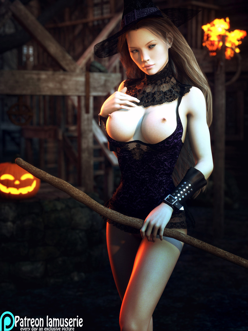 Topless Hot Witch 37