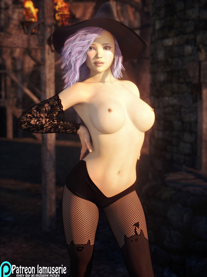 Topless Hot Witch 39
