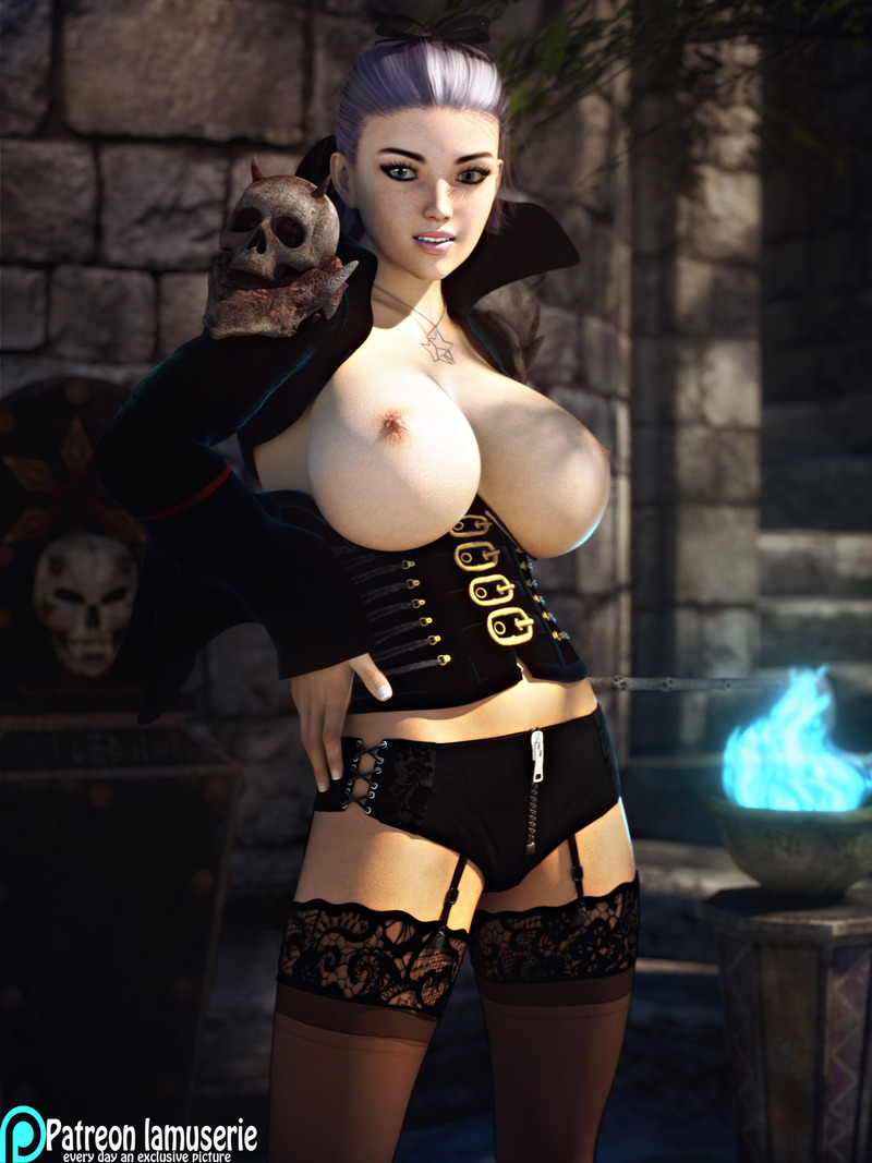 Topless Hot Witch 43