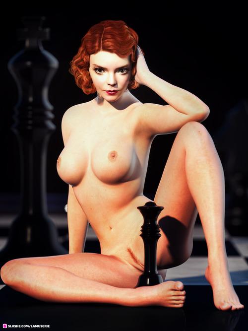 Nude Queen's Gambit