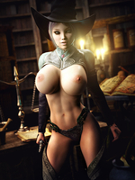 Topless Witch 20