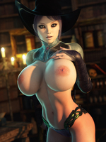 Topless Witch 42