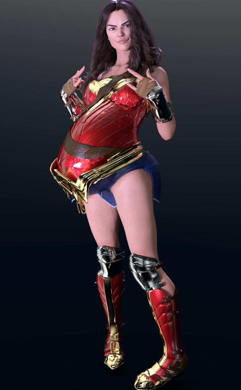 Wonder Woman Prego