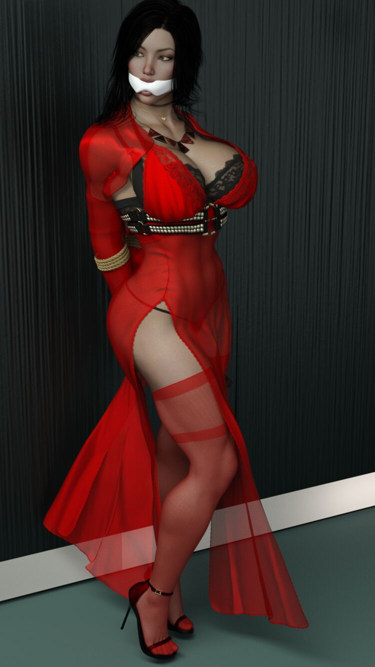 Nika Kajati - Bitch in Red Dress - Bound 1
