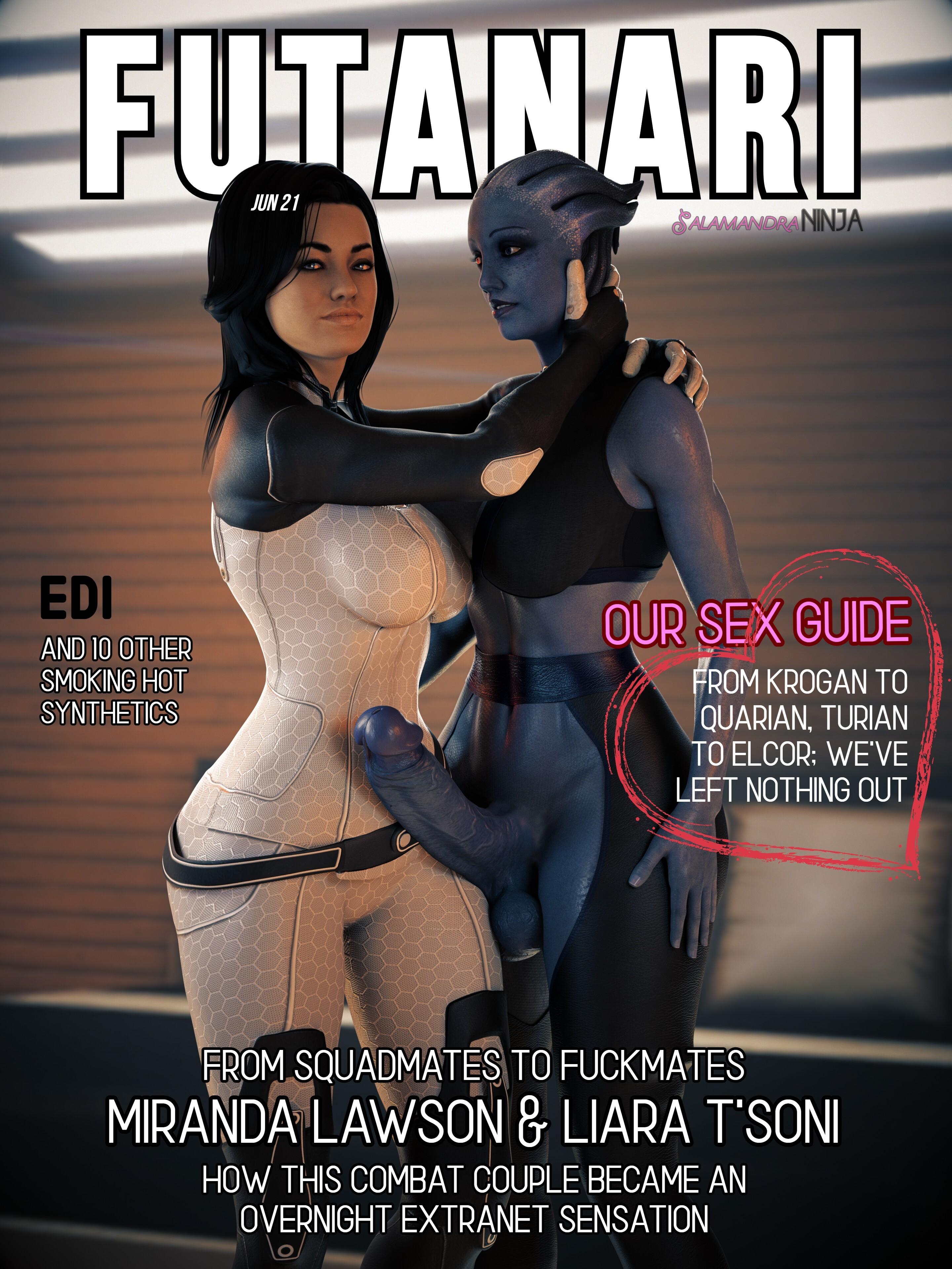 FUTANARI Magazine: Miranda & Liara