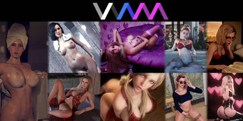Virt-A-Mate's Sexy at Home Banner Contest 2020