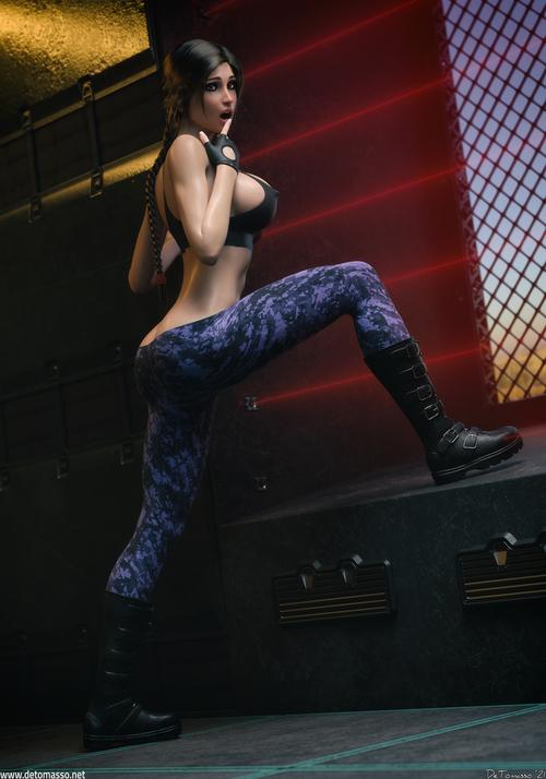 Lara Croft - High Security Compound