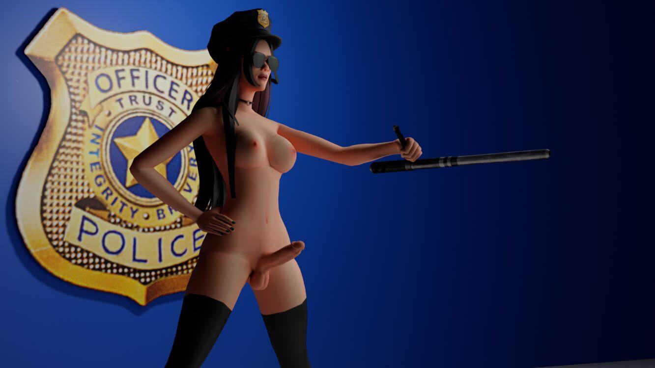 You're under arrest, now suck my dick