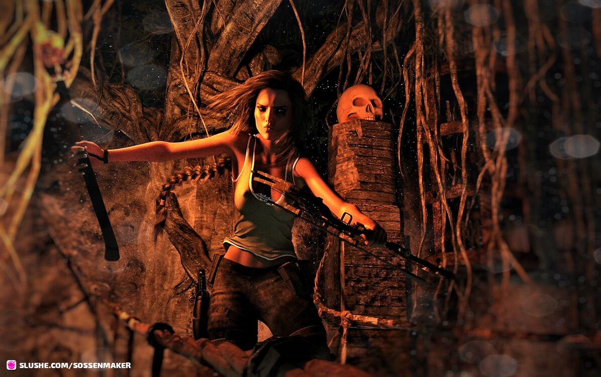 The Girl alias Tomb Raider