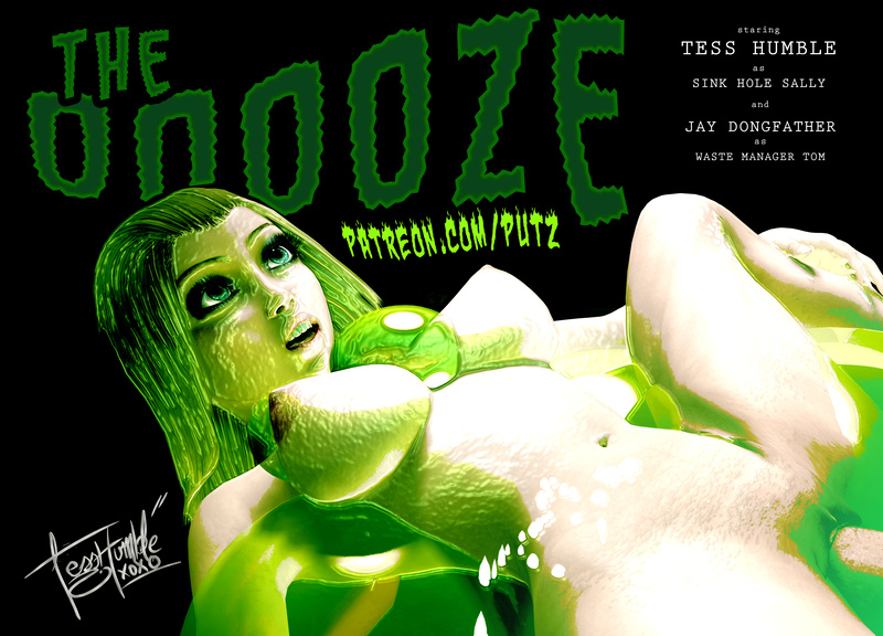 The Oooze Starring Tess Humble & Jay Dongfather VR Vam Scene - BETA PREVIEW