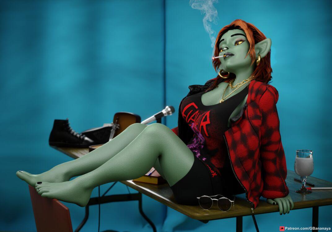 Grunge Goblin Girl