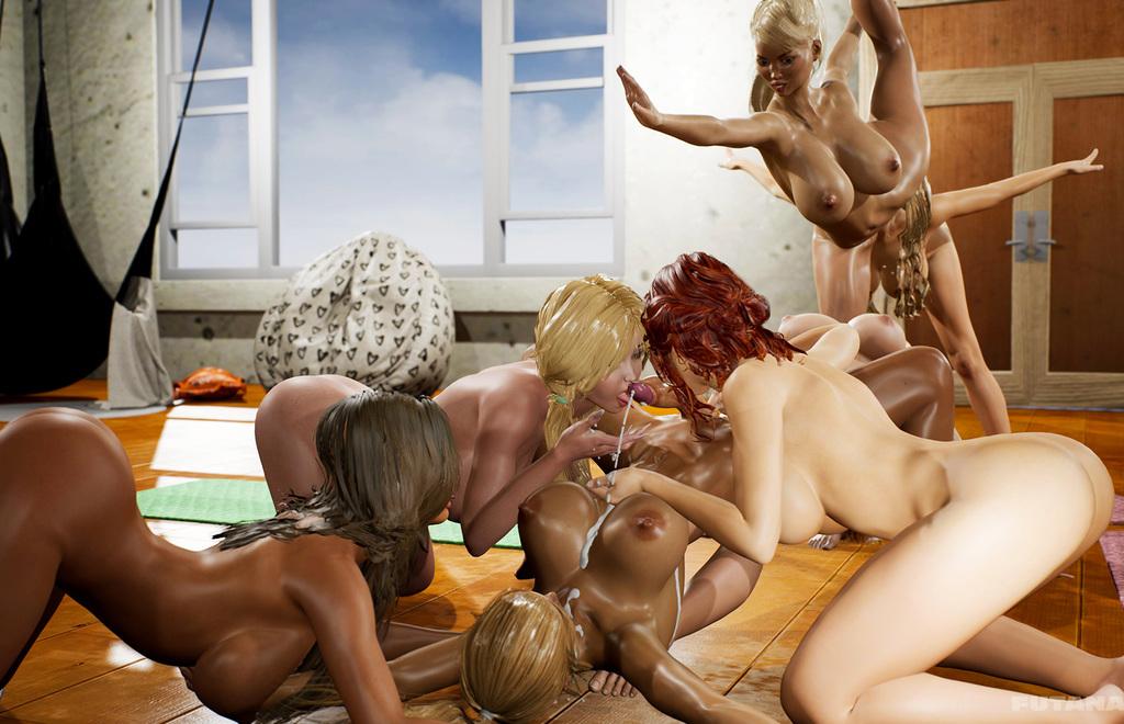 Yoga Class - Tantric Sex Basics 2 scene keyframes