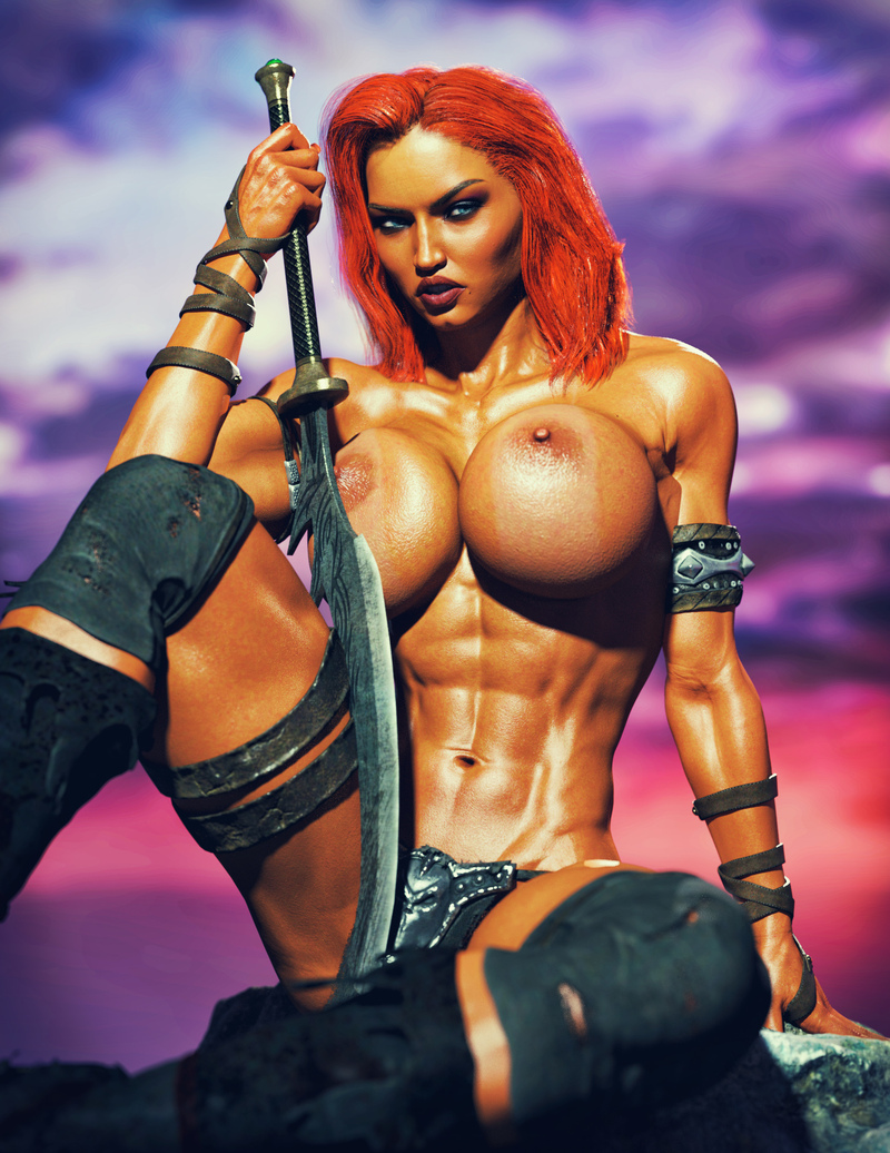 Joyce - Red Sonja Cosplay 001